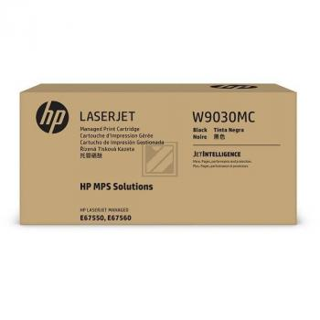 W9030MC HP MANAGED E67550 CARTRIDGE BLK / W9030MC
