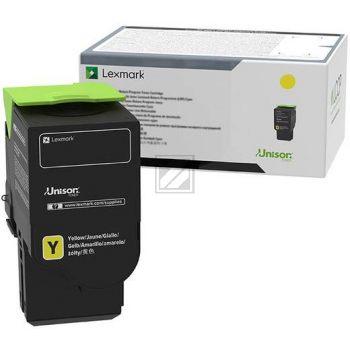 LEXMARK C230H40 Yellow High Yield Toner Cartridge / C230H40