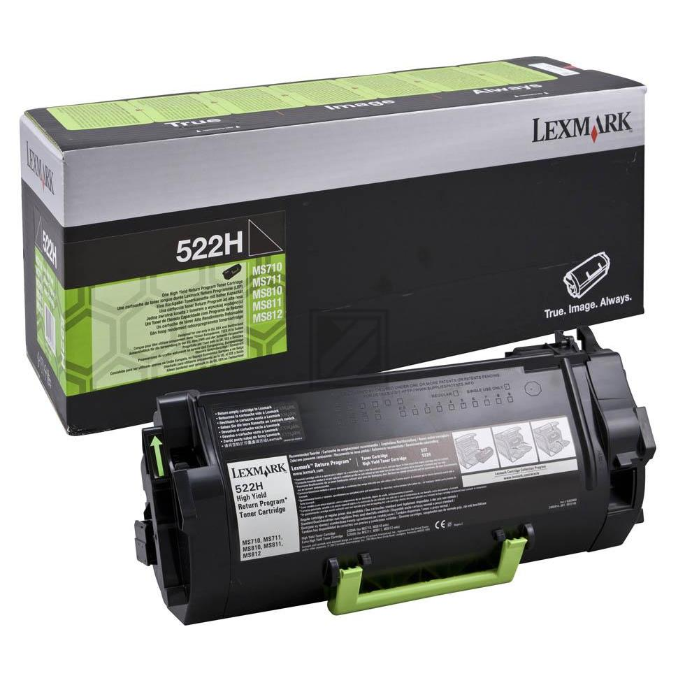 52D0HA0 LEXMARK MS810DE TONER BLACK / 52D0HA0