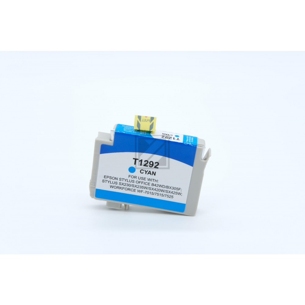 Alternativ Tinte Cyan für Epson  / C13T12924010 / 7ml