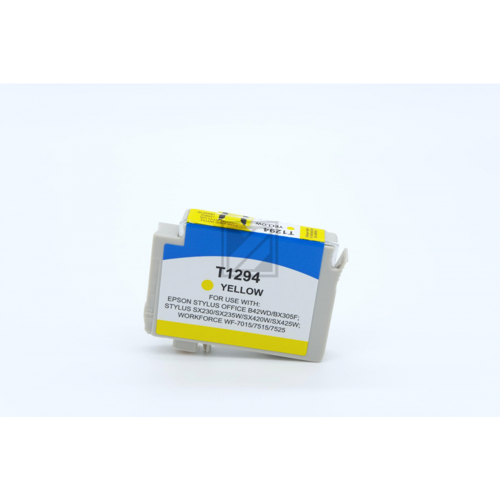 Alternativ Tinte Yellow für Epson / C13T12944010 / 7ml