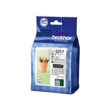 LC3217VAL BROTHER TINTE (4) CMYK / LC3217VAL