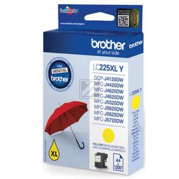LC225XL // Yellow // original // Tinte f. BROTHER / LC225XLY