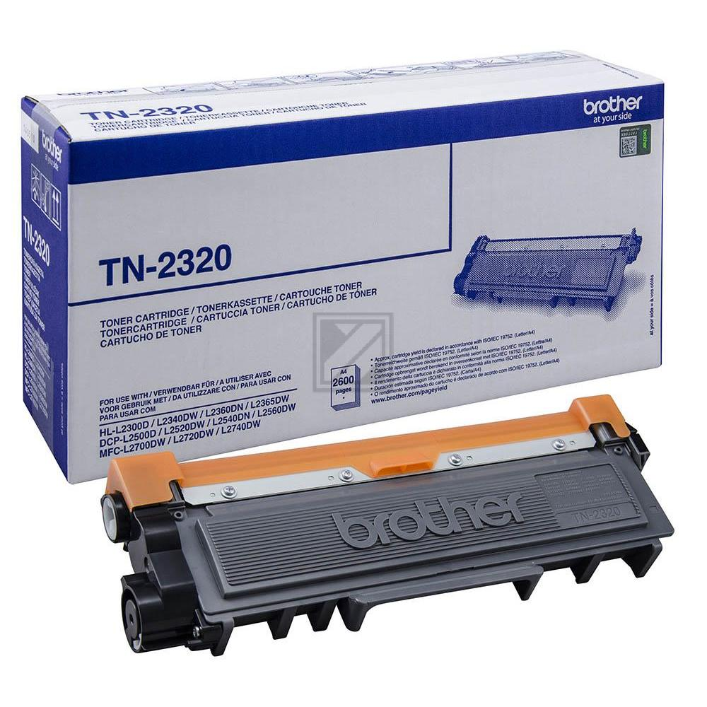 TN2320 Original Toner Black für Brother HL / TN2320 / 2.600 Seiten