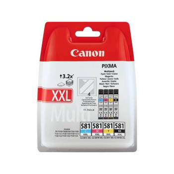 Canon Ink CLI581 Multipack XXL (1998C004)  VE 1x  / 1998C004