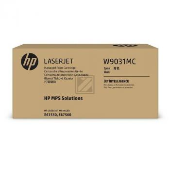 W9031MC HP MANAGED E67550 CARTRIDGE CYA / W9031MC