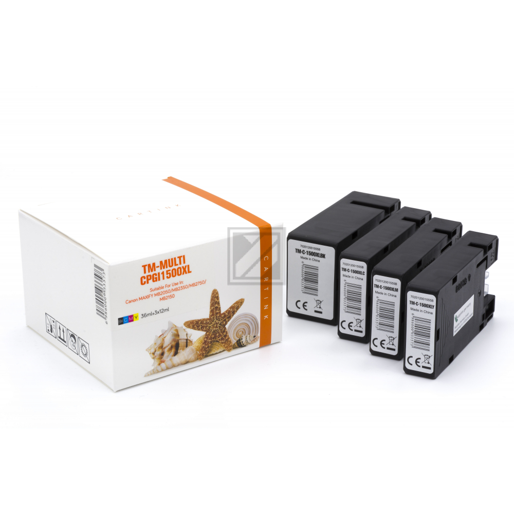 Alternativ Tinte für Canon / 9182B004 / BK36ml / C,M,Y12ml