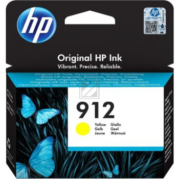 3YL79AE //HP Ink Cart. No. 912 // yellow / 3YL79AE / für Office Jet 8012