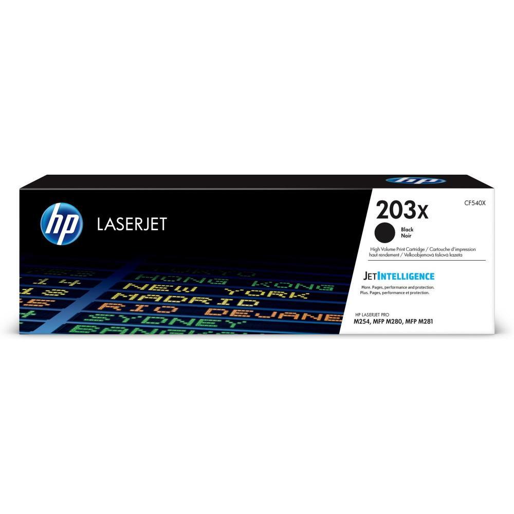 HP Toner CF540X203X schwarz / CF540X