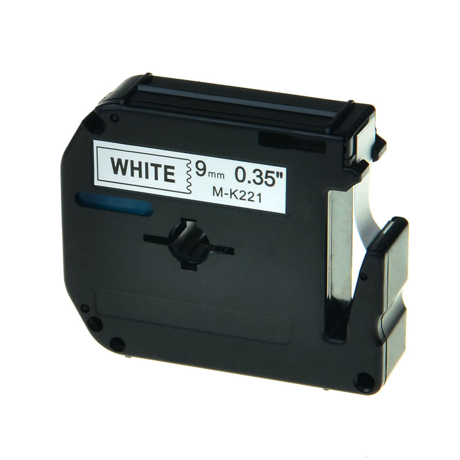 MK221 Alternativ Farbband Black on White für Brot / MK221 / 9mm