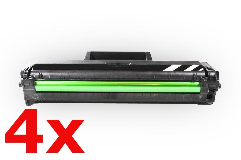 4er Set TONML1660 Alternativ Toner Black für Samsu / MLTD1042S / 4x1.500 Seiten