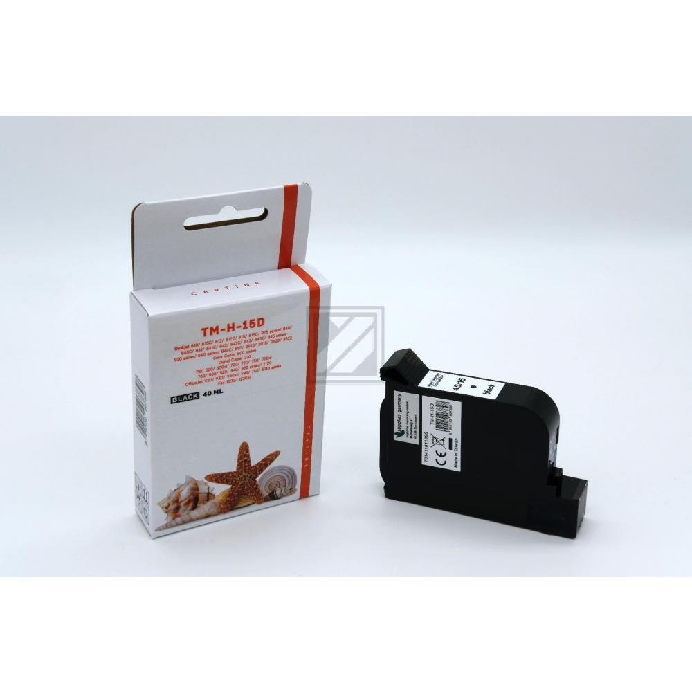 Alternativ Tinte Black für HP / 51645A / 40ml (Patentsicher)