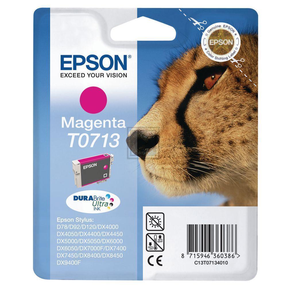 T0713 // C13T07134012 // Magenta // original // Ti / C13T07134011 // C13T07134012 / 5,5 ml