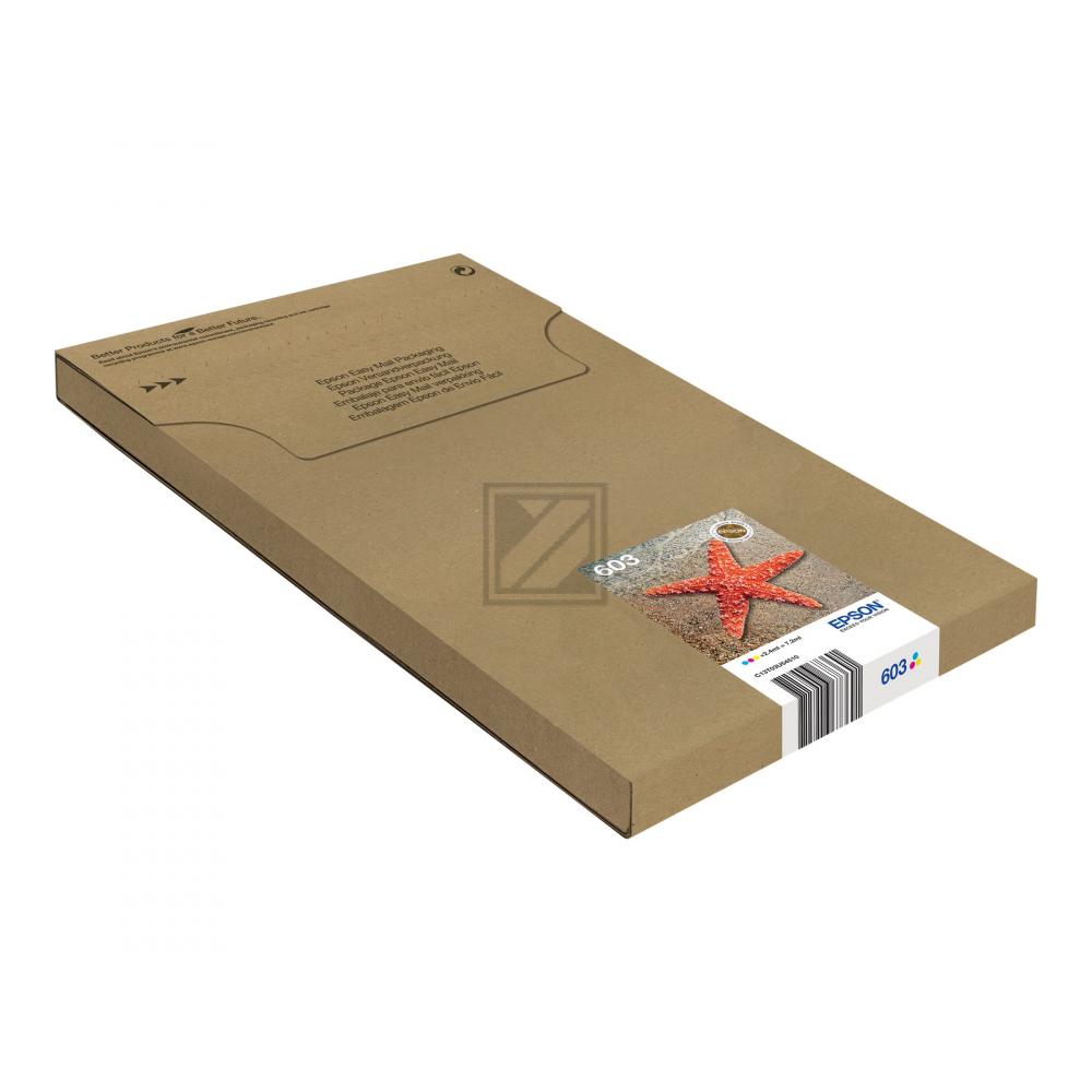 EPSON Multipack 4colours 603 EasyMail / C13T03U64510