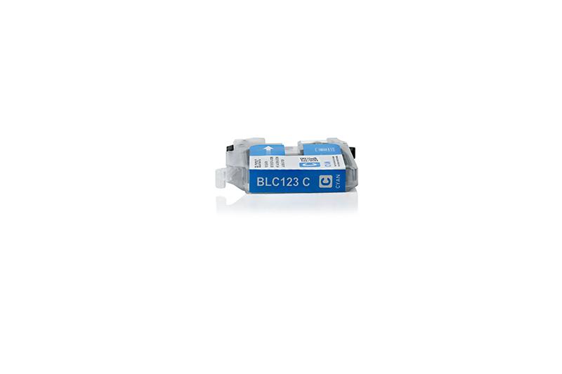 BULK LC121/123XLC Alternativ Tinte Cyan für Brothe / LC123C / 10ml