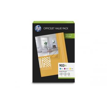 1CC20AE // original // HP Valuepack cmy 903XL / 1CC20AE / 3 x 825 Seiten  Papier A4