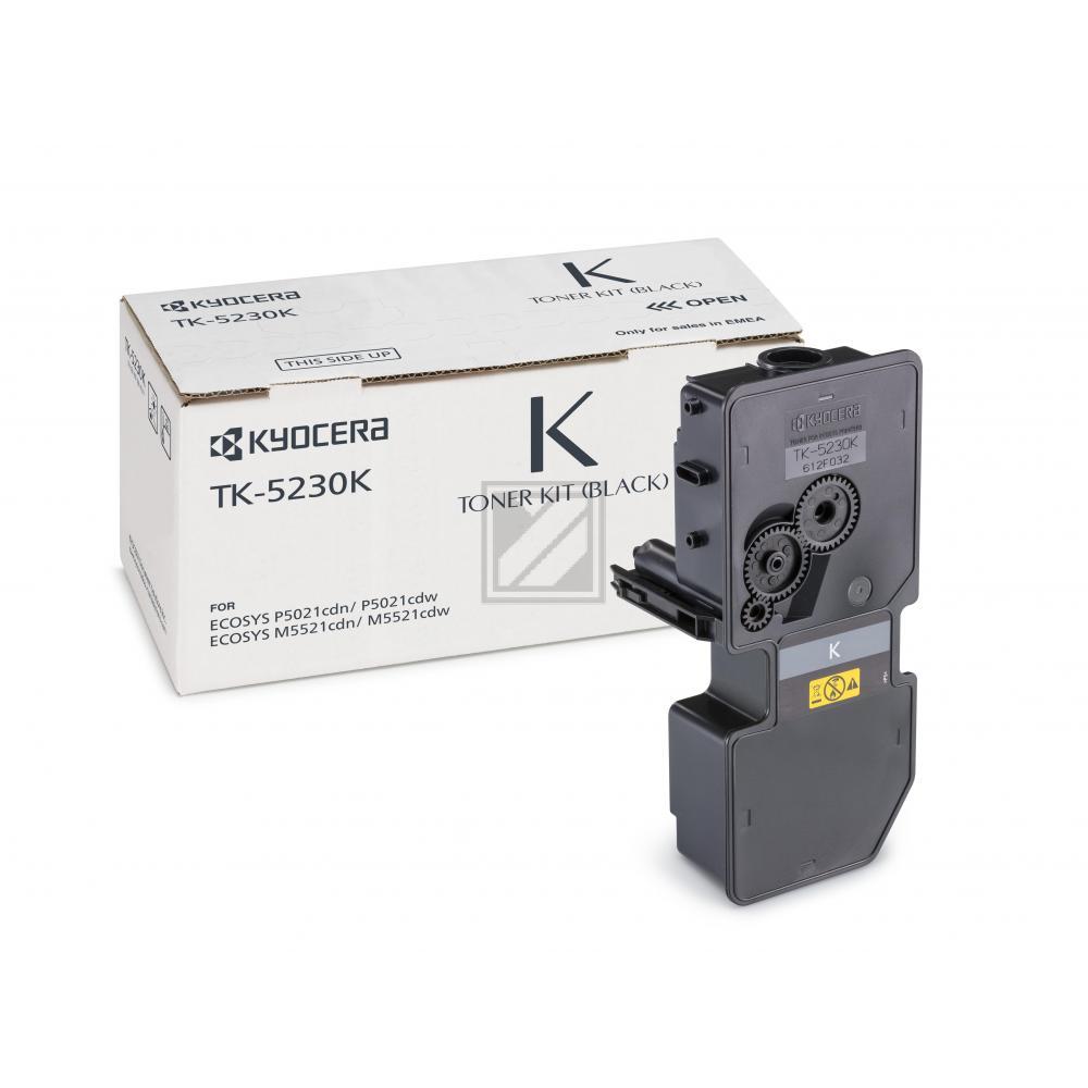 TK5230K /1T02R90NL0 Original Toner Black für Kyoc / 1T02R90NL0/TK5230K / 2.600 Seiten