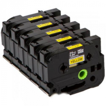 HGE651V5 / original / Farbband black yellow / HGE651V5