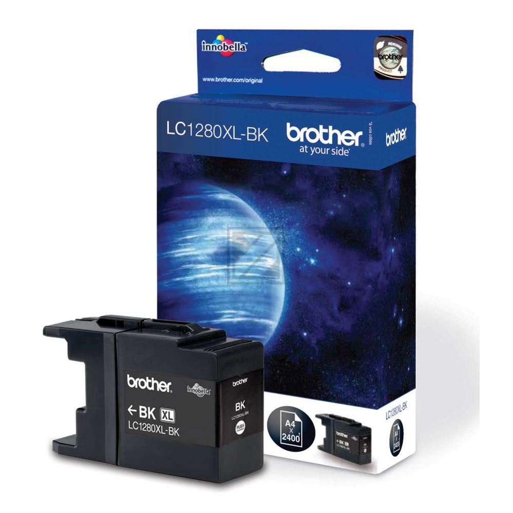 LC1280XLBK // Black // original // Tinte f. Brothe / LC1280XLBK