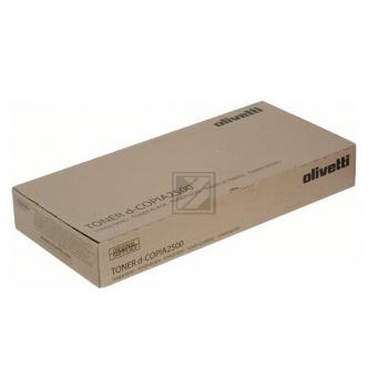 B0706 // Black // original // Toner f. Olivetti D / B0706 / 20.000 Seiten