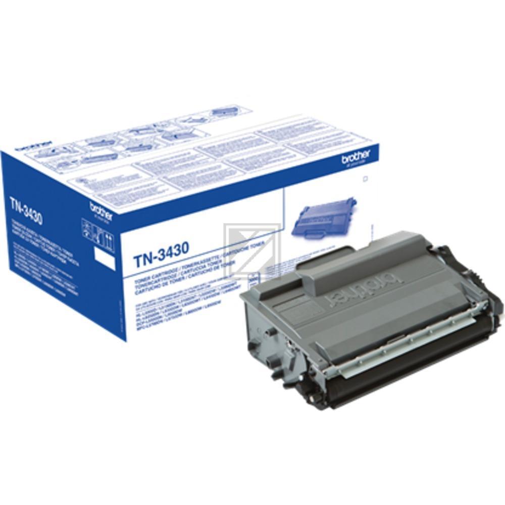 TN3430 Original Toner Black für Brother  / TN3430 / 3.000 Seiten