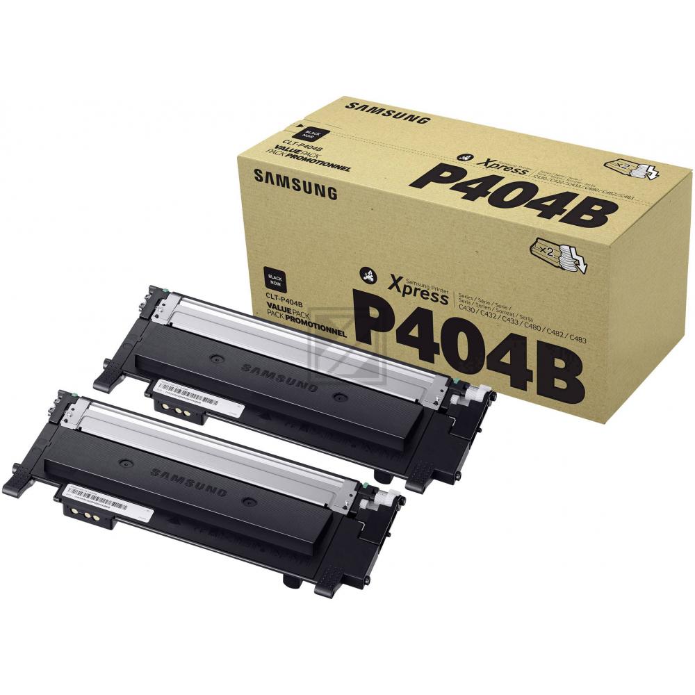 CLTP404B/ELS Original Toner Doppelpack für  / CLTP404B/SU364A/ELS / 2 x 1.500 Seiten