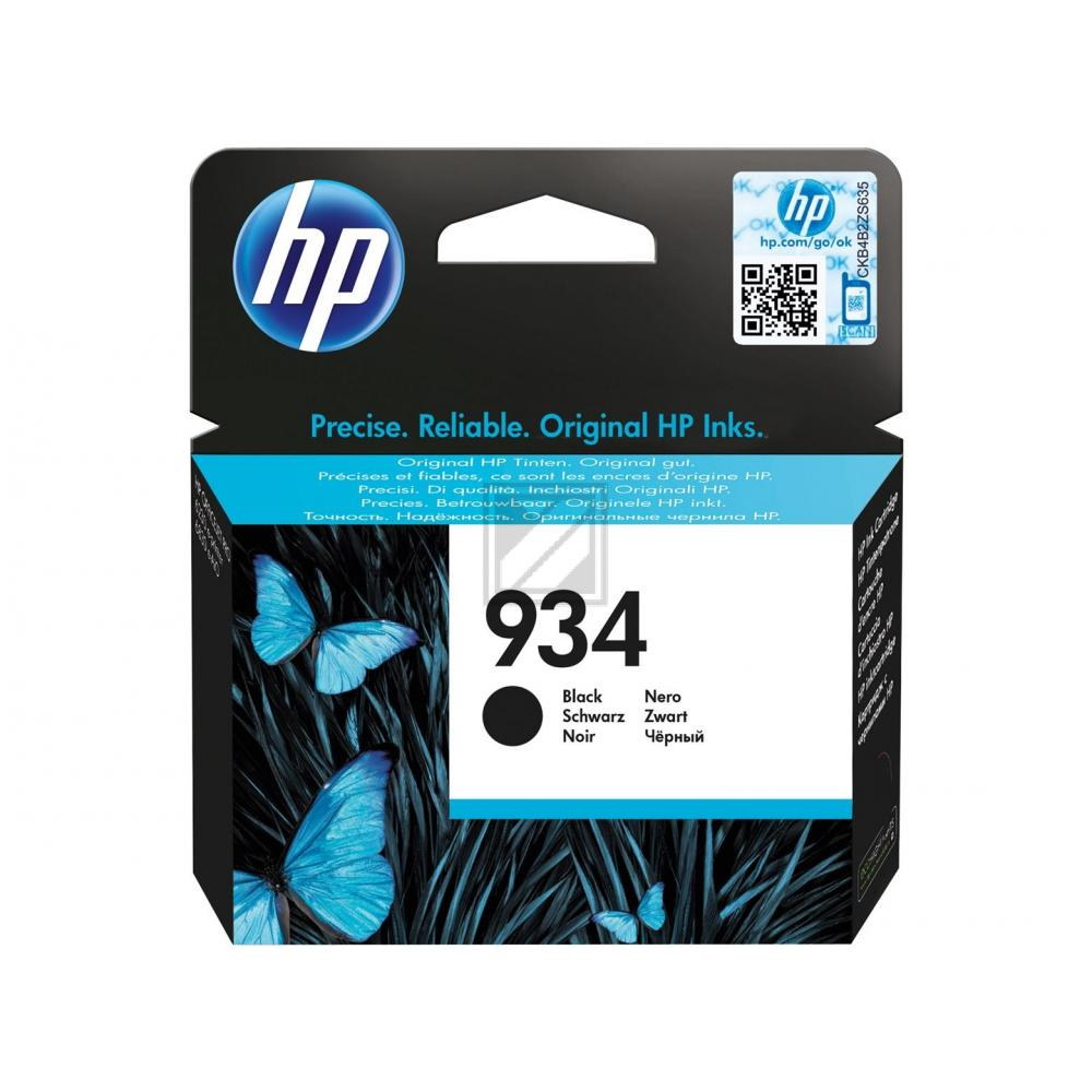 C2P19AE / Nr.934BK Original Tinte Black für HP / C2P19AE / 10ml