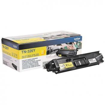 TN326Y Original Toner Yellow für  Brother / TN326Y / 3.500 Seiten