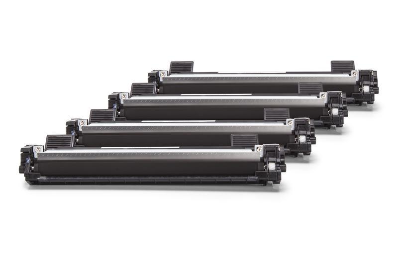 4er Set TONTN1050 Alternativ Toner Black für Broth / TN1050 / 4x1.000 Seiten