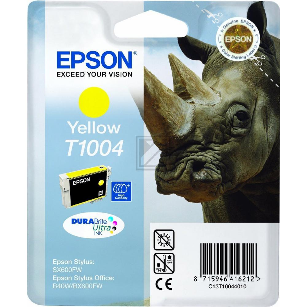 C13T1004401 / Yellow // original // Tinte f. Epson / C13T10044010