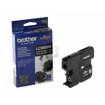 LC980BK // Black // original // Tinte f. Brother D / LC980BK