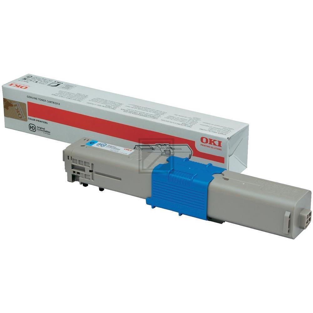44973535 Original Toner Cyan für Oki C301 / 44973535 / 1.500 Seiten