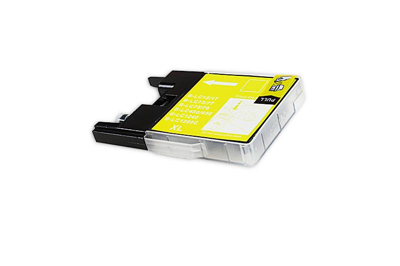 BULK LC1280XLY Alternativ Tinte Yellow für Brother / LC1280XLY / 20ml