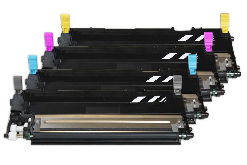 TONCLP320 Alternativ Toner Rainbowkit für Samsung / CLTK 4072 S/ELSK /Bk x1.500 S/CMY je x1.000 S