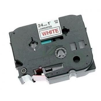 TZ252 //Red on White// original // Beschriftungsb / TZE252