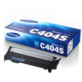 CLP430C/CLTC404S/ELS Original Toner Cyan für Sam / CLTC404S/ST966A/ELS / 1.000 Seiten