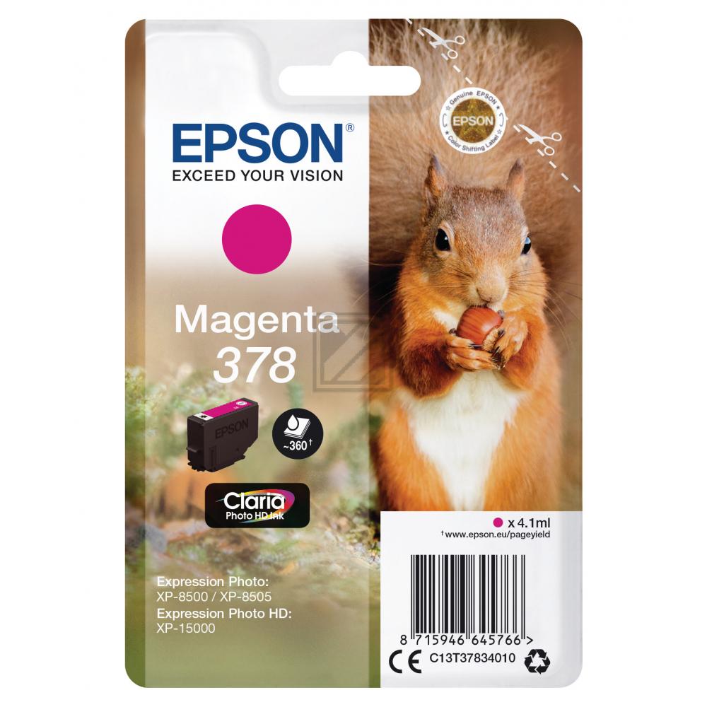 Epson Ink Cart. C13T378340 für Expression Premium  / C13T37834010