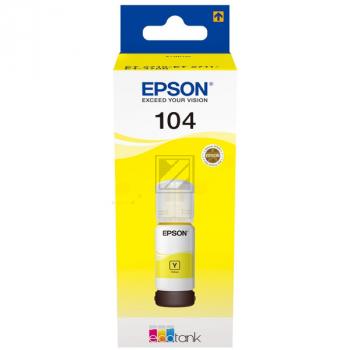 C13T00P440 // EPSON Ecotank Tinte 104/T00P44 / C13T00P440