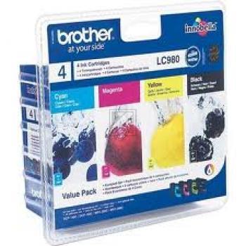 Multipack // LC980VALBP // original // Tinte f. Br / LC980VALBP