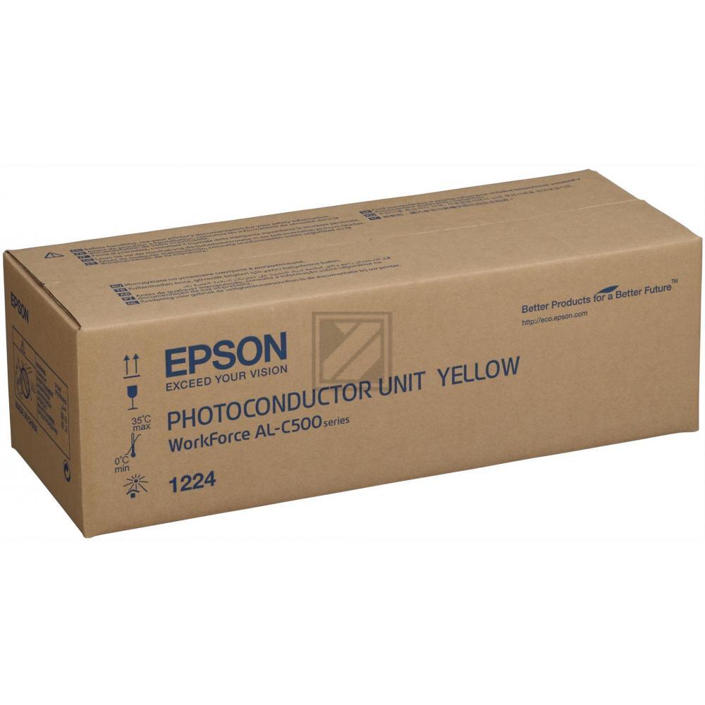 EPSON ALC500DN Fotoleitereinheit gelb Standardkap / C13S051224