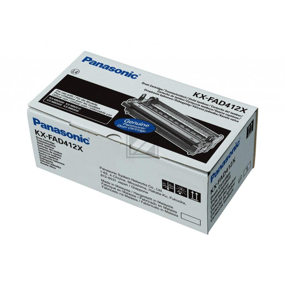 KXFAD412X // original // Trommel f. Panasonic KXM / KXFAD412X / 6.000 Seiten