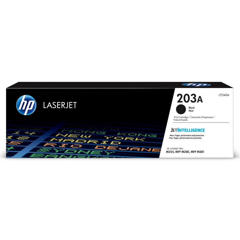 HP Toner CF540A203A schwarz / CF540A