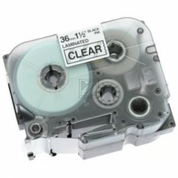TZE161 //Bk on Clear // original // Beschriftung / TZE161