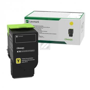 LEXMARK Toner 78C20Y0 gelb / 78C20Y0