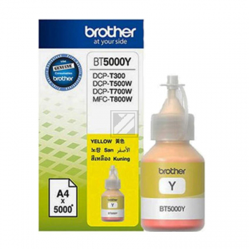 BROTHER BT5000Y Ink Brother BT5000Y yellow 5000pgs / BT5000Y