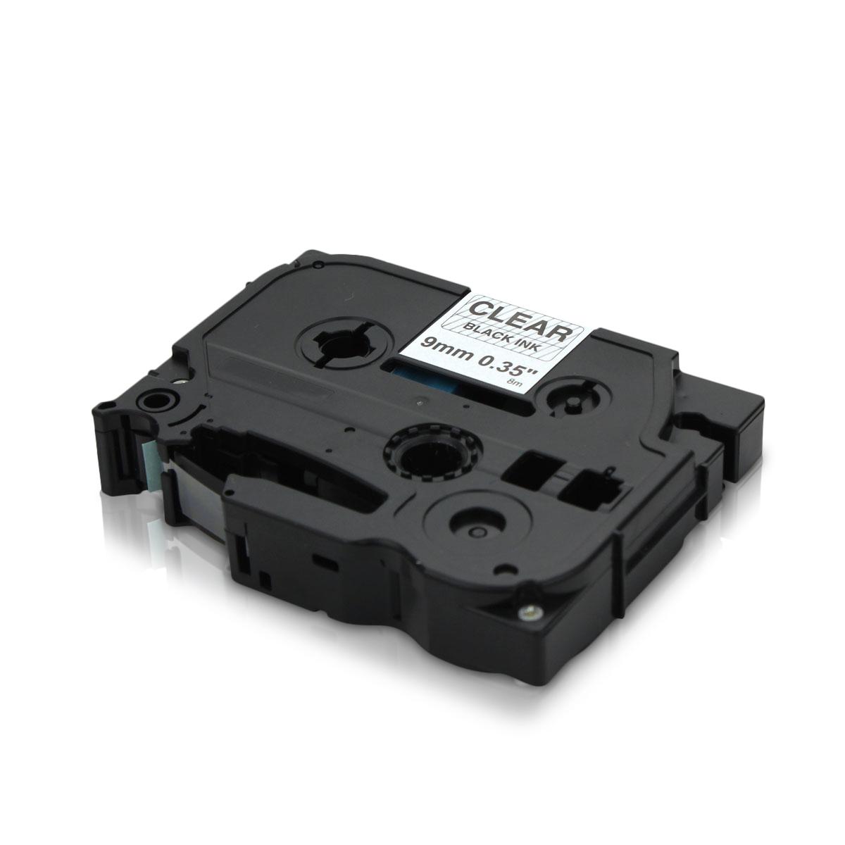 TZe121 Alternativ Farbband Black on Clear für Bro / TZe121