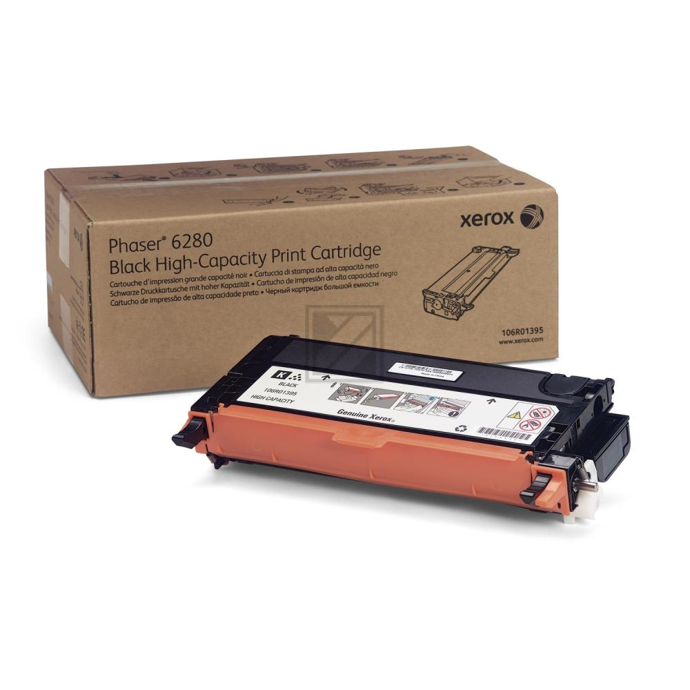 106R01395 // Black // original // Toner f. Xerox/T / 106R01395 / 7.000 Seiten