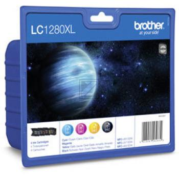 LC1280XLVALBP // BK,C,M,Y // original // Tinte f. / LC1280XLVALBPDR // LC1280XLVALBP