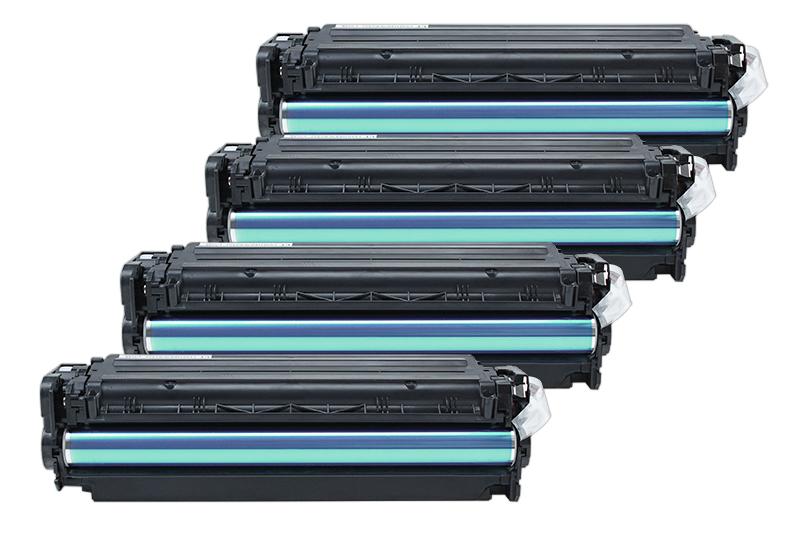 TONCF380AKIT Alternativ Rainbowkit für HP / CF380A /312A / BK4.400 / CMY2.700 Seiten