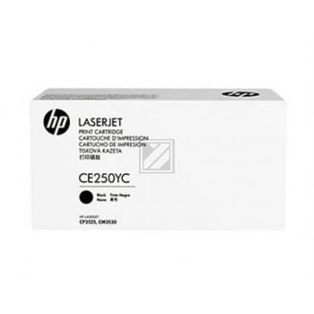 CE250YC Original Contract Toner Black für HP / CE250C / 10.500 Seiten
